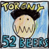 Torgny the winner in the beer drinking contest with 52 beers.