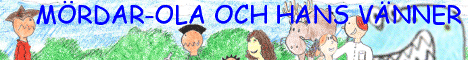Banner for the Ola Lawless and Friends blog in Swedish